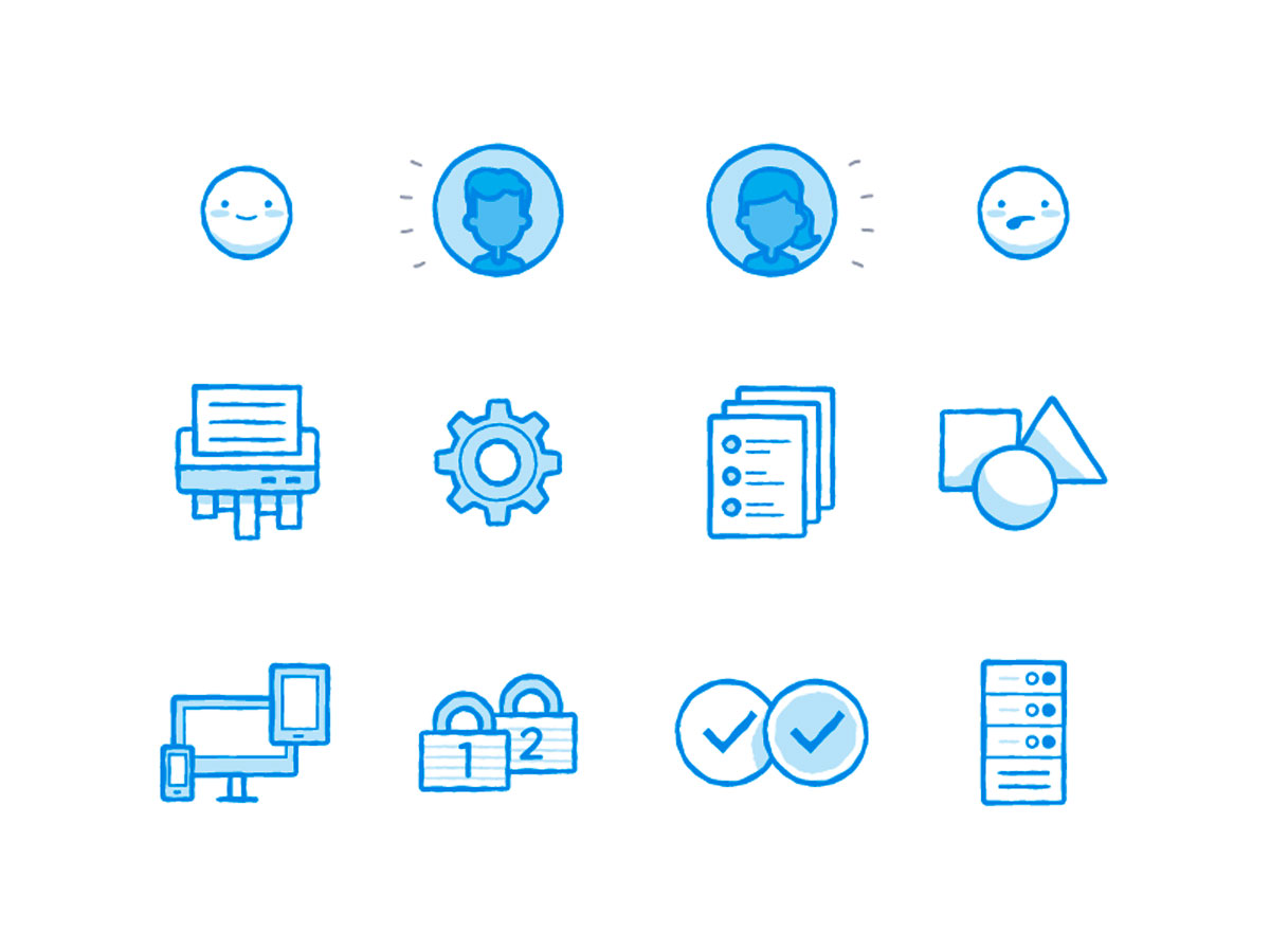 New awesome set of icons